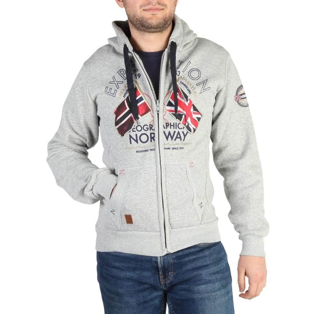 your trendy style Clothing Sweatshirts Geographical Norway - Flepto100_man grey / S