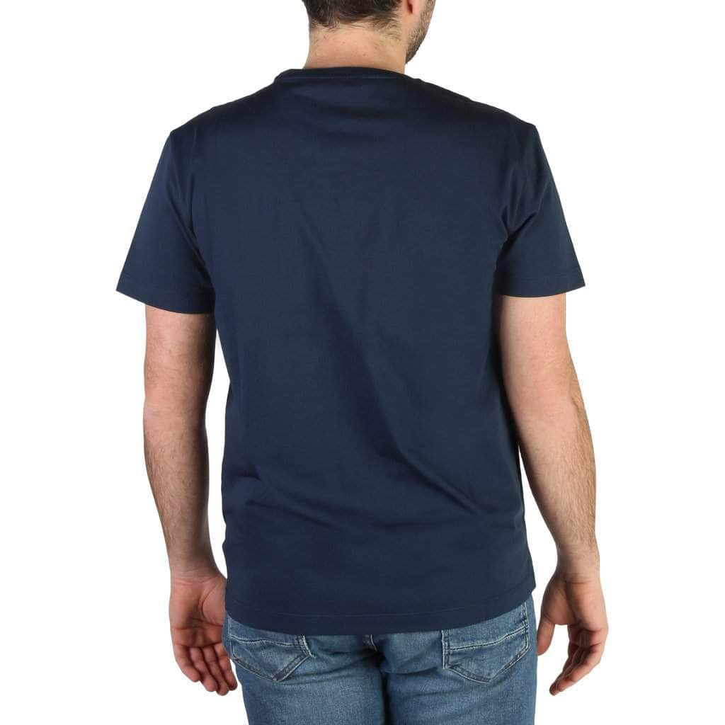 your trendy style Clothing T-shirts Emporio Armani Men Blue T-shirt - 3HPT48 PJT3Z