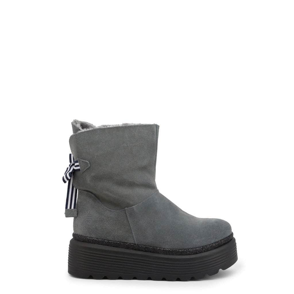 your trendy style Shoes Ankle boots Marina Yachting Women Grey Ankle Boots - SPACE 172W653300 grey / EU 35