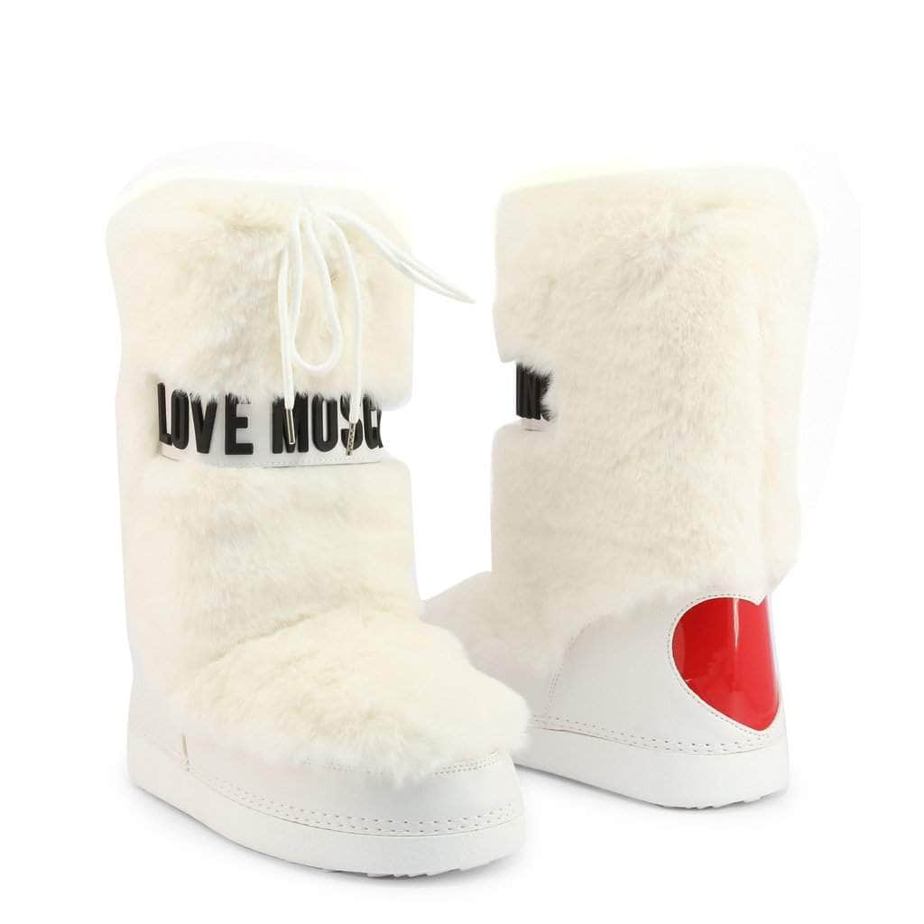 your trendy style Shoes Boots Love Moschino Women White Snow Boots - JA24082G0BJ5