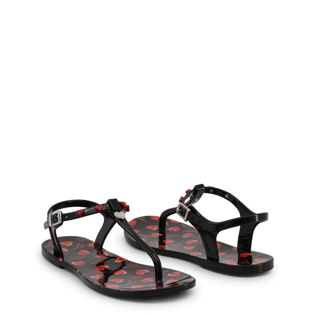 your trendy style Shoes Flip Flops Love Moschino Women Black Sandals - JA16021G17IW