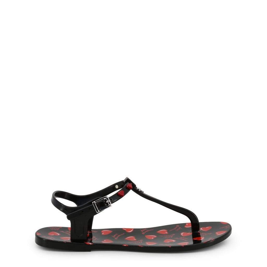 your trendy style Shoes Flip Flops Love Moschino Women Black Sandals - JA16021G17IW black / 36