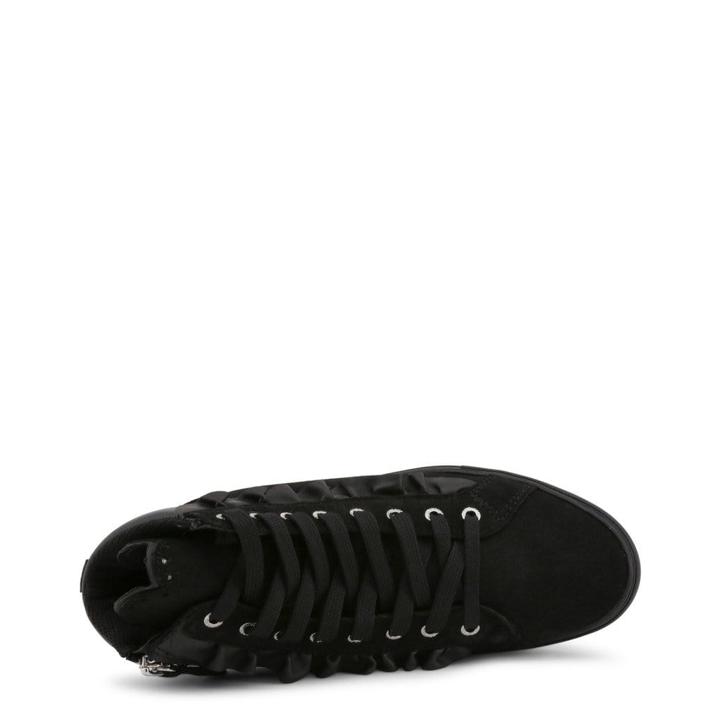 your trendy style Shoes Sneakers Trussardi Women Black High Sneakers - 79A00242