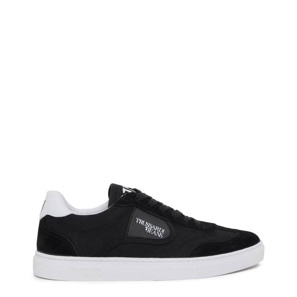 your trendy style Shoes Sneakers Trussardi Women Black Sneakers - 79A00332 black / EU 36