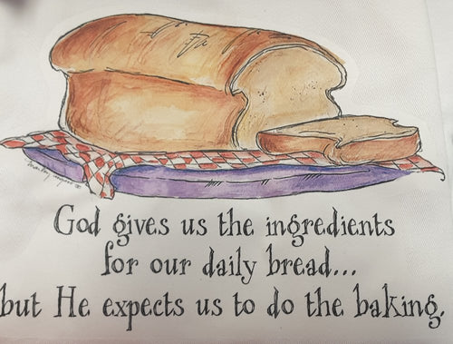 Apron-God's daily bread