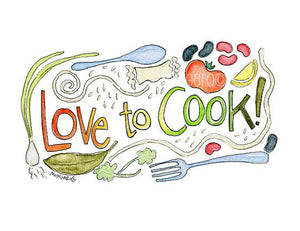 Apron-Love to cook