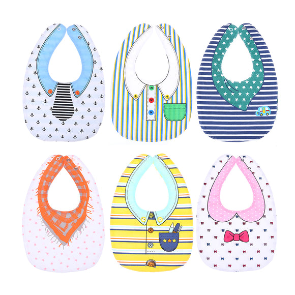 Unisex Baby Bibs Animals Cartoon Pattern . Waterproof -  J.A.C.K. KIDS
