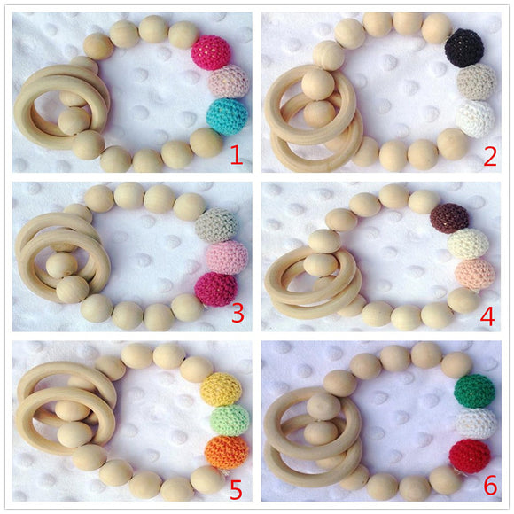 Wooden Teething Bracelet -  J.A.C.K. KIDS