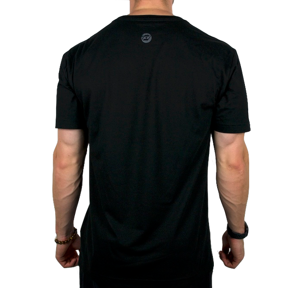 The Veteran Black T-Shirt back