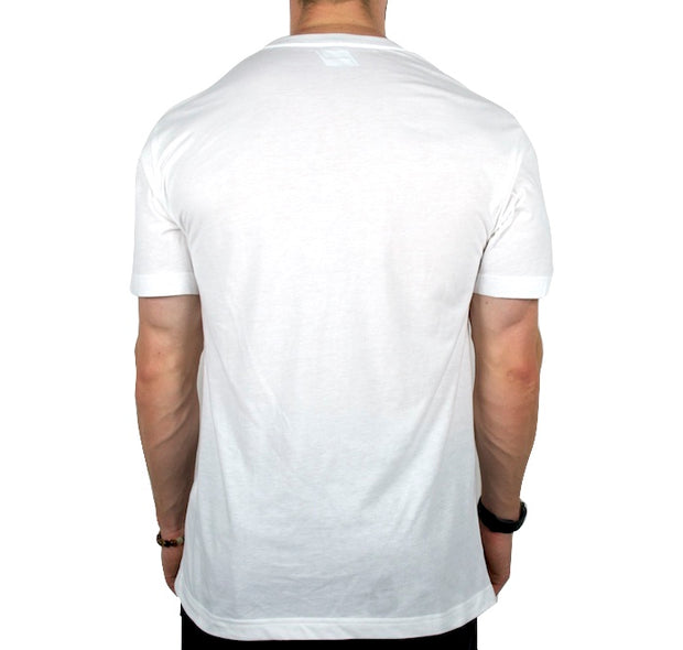 The Veteran (White) back t-shirt