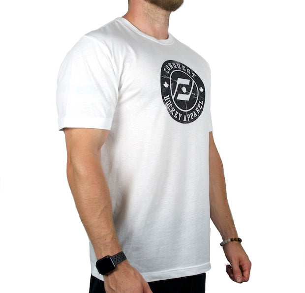 The Veteran (White) side t-shirt