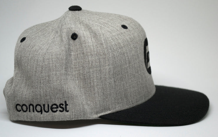 Ace Snapback (grey) side