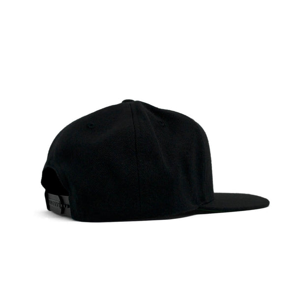 The Hat-Trick Snapback (Black)