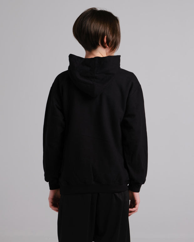 The Early Riser Youth Hoodie (Black)