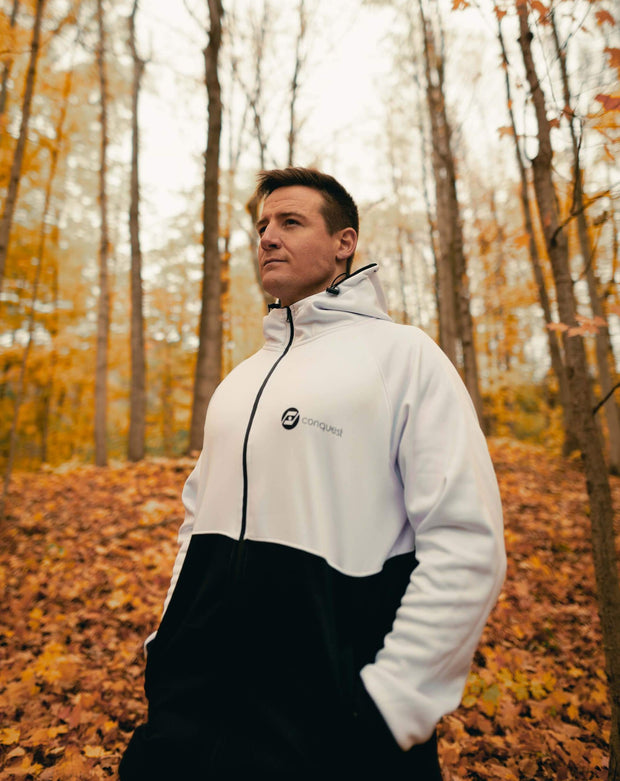 The Recharge Tech Fleece (White)
