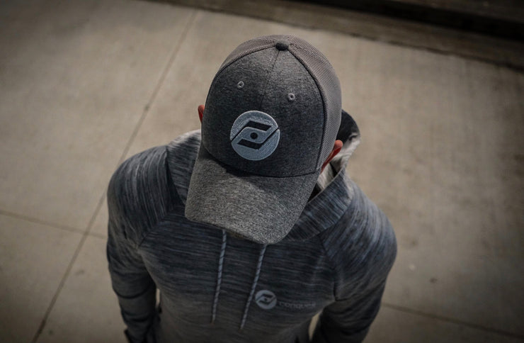 Virtuoso 2.0 Mesh Hockey Hat (grey) outside