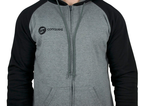 The Storm Zip-up hoody logo