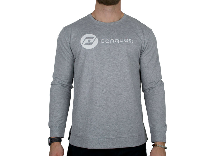 Challenger Sweater (grey) front