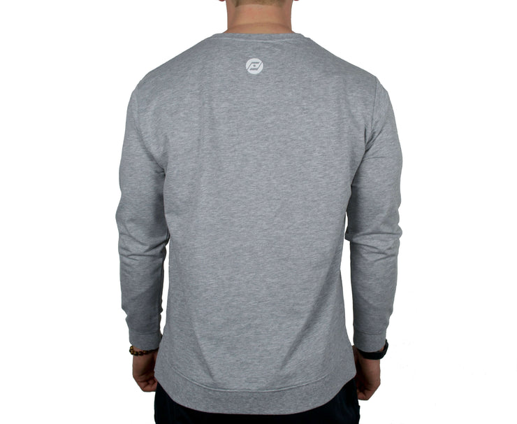 Challenger Sweater (grey) back side