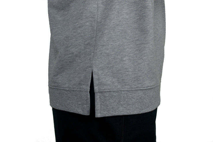 Challenger Sweater (grey) side seam