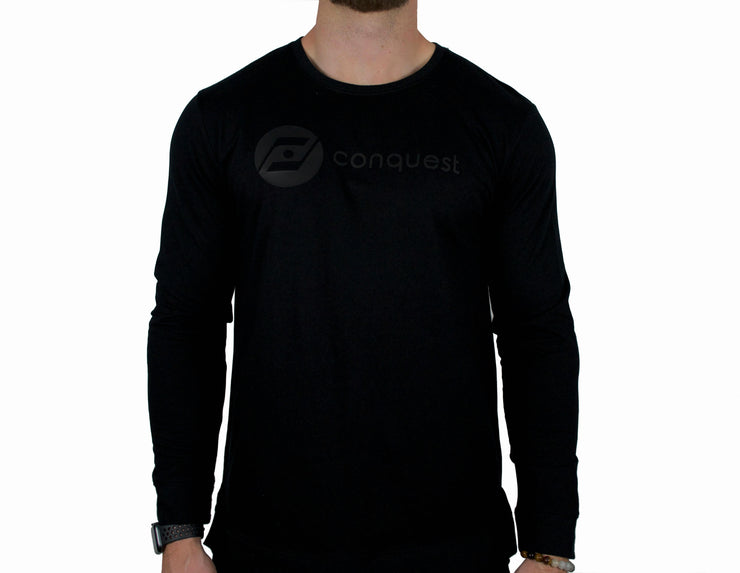 Challenger Sweater (black) front