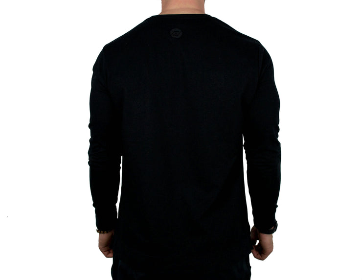 Challenger Sweater (black) back