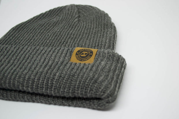 The Two-Way Toque (Charcoal Grey)