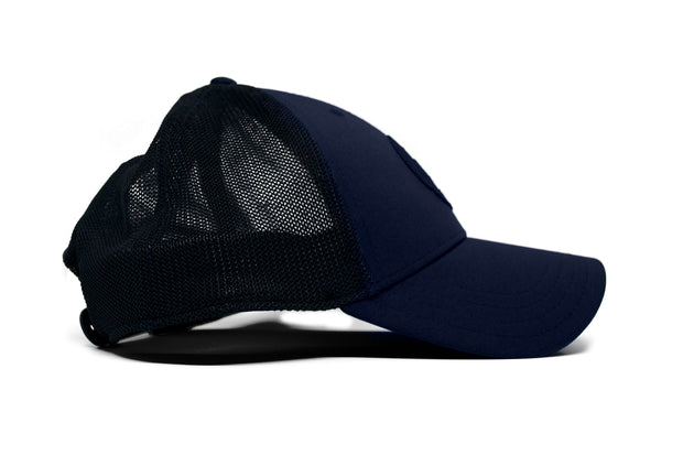 Virtuoso 2.0 (Navy Blue) Mesh Hockey Hat side