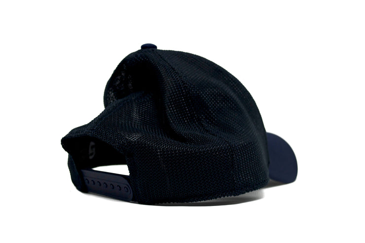 Virtuoso 2.0 (Navy Blue) Mesh Hockey Hat back
