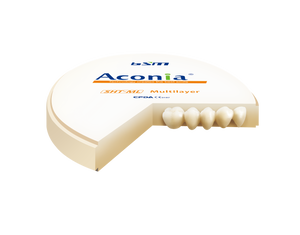 Aconia SHT Multilayer Zirconia from BESMILE Dental