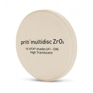 Pritidenta Multidisc Multicolor High Translucent C-light 18mm