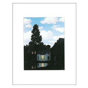 Magritte's 'Lumieres' 11x14 Matted Print