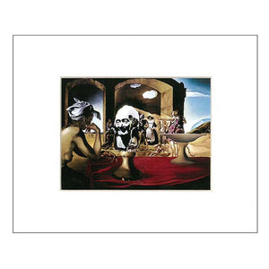 Matted Print Slave Market 10x8 in