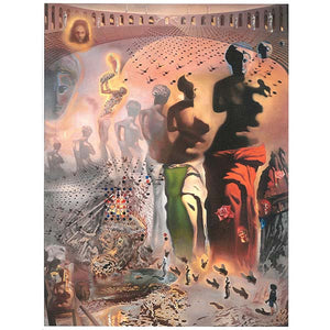 Hallucinogenic Toreador Canvas Giclee Print  11x14
