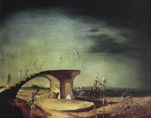 Broken Bridge and the Dream Canvas Print 15x12 in