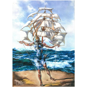 The Ship Canvas Giclee Print 20x28 inches