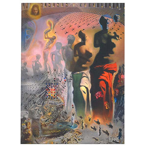 Hallucinogenic Toreador Mini Canvas Print 6x8in