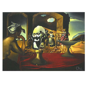 Slave Market/Voltaire Mini Canvas Print 8x6 in