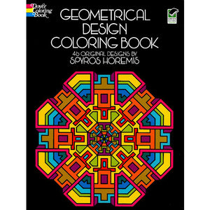 Geometrical Designs Coloring Book