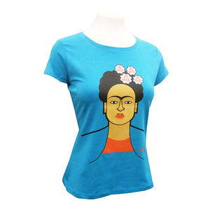Frida Kahlo T for Ladies - Andy Tuohy Illustration