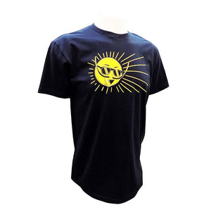 Mr. Dali Sun Unisex T-Shirt - Navy
