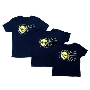 Mr. Dali Sun Youth XS T-Shirt - Navy Blue