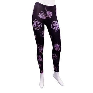 Spanish Rose Leggings - pink