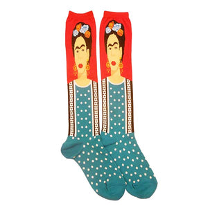 Frida Kahlo Knee High Socks