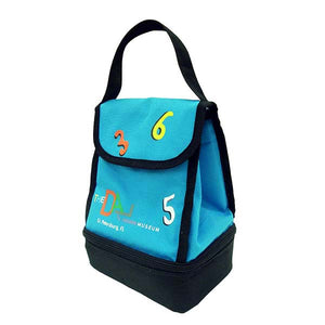Clock and Numbers Lunch Tote