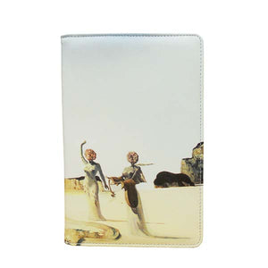 Three Young Surrealisit Women Notepad Folio