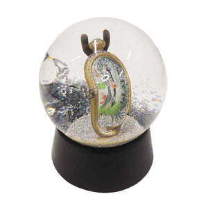 Melting Clock Snow Globe