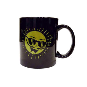 Mr. Dali Sun Coffee/Tea Mug- Black