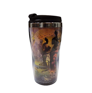 Dali Masterworks Collage Travel Tumbler