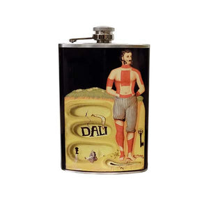 Surrealist Poster Hip Flask
